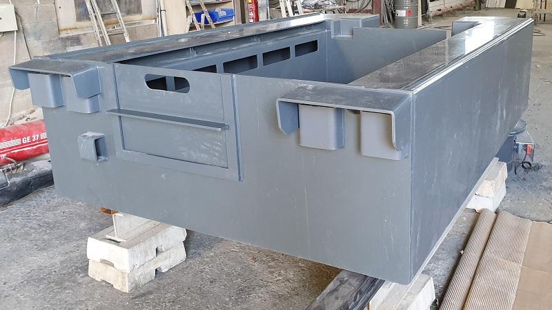 Gaine d'aspiration en PVC pour cuve de traitement de surface